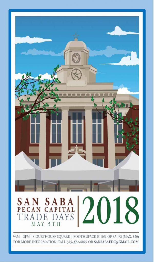 Pecan Capital Trade day @ San Saba county Court House   San Saba   Texas   United States