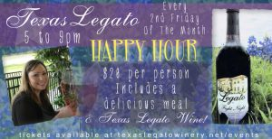 Texas Legato Wine Down Happy Hours @ Texas Legato Winery | Lampasas | Texas | United States