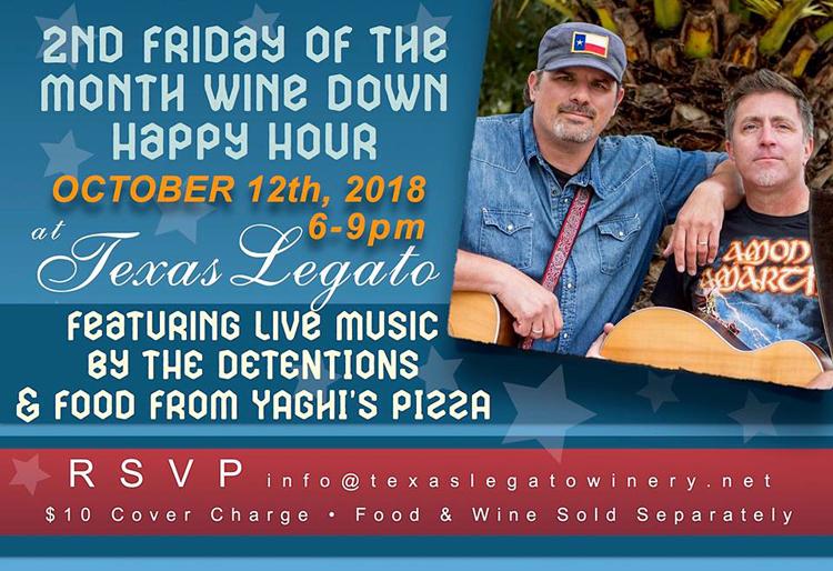 "Texas Legato ""Wine Down"" Happy Hour @ Texas Legato Winery   Lampasas   Texas   United States"