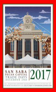 Pecan Capital Trade Days @ San Saba County Courthouse   San Saba   Texas   United States