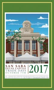 Pecan Capital Trade Days @ San Saba County Courthouse | San Saba | Texas | United States
