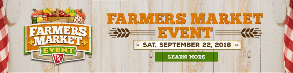 Farmer's Market Sponsored by Tractor Supply @ Tractor Supply | San Saba | Texas | United States